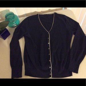 Brooks Brother Cardigan Sweater Blue